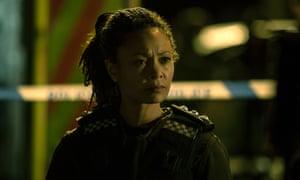 Thandie Newton as DCI Roz Huntley.