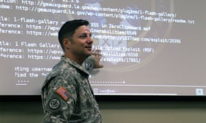 The Louisiana National Guard trains the cyber team tasked with protecting the US state's data assets.