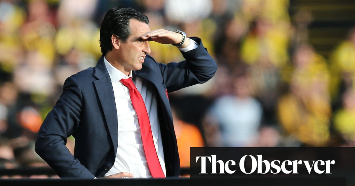 Blame me for Arsenal's collapse against Watford, says Unai Emery