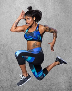Massy Arias models her clothing line for US retailer Target.