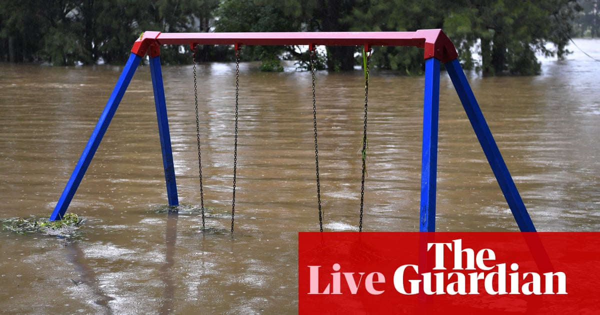NSW weather live updates: more rain flooding expected on mid-north coast as rivers continue to rise – The Guardian