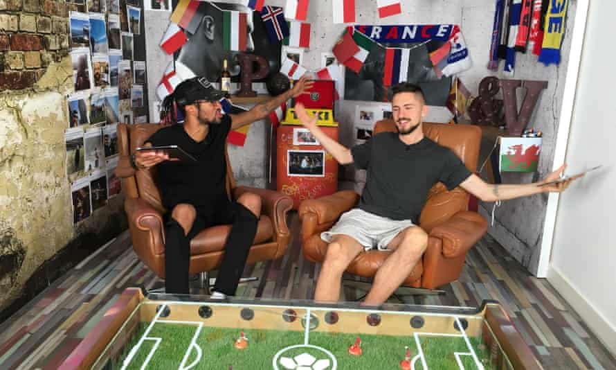 Match of the Day for the YouTube generation: the hosts of Copa90 prefer to talk to each other instead of the camera