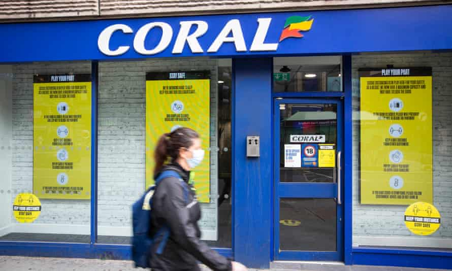 Entain, the owner of Coral and Ladbrokes, turned down MGM Resorts' £8bn takeover offer a fortnight ago.
