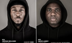 Cephas Williams, 56 Black Men founder, and David Lammy, MP for Tottenham.