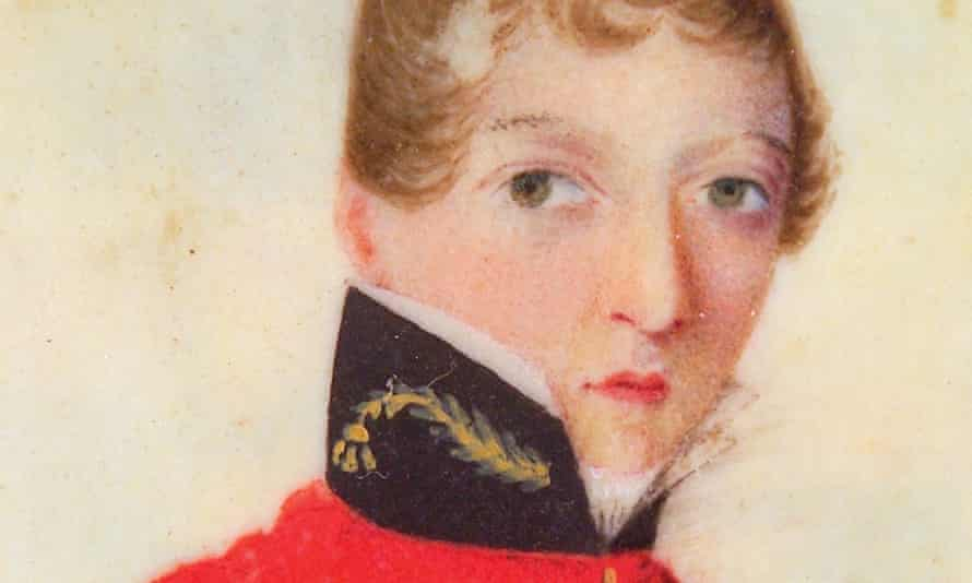 detail from a miniature of Dr James Barry.