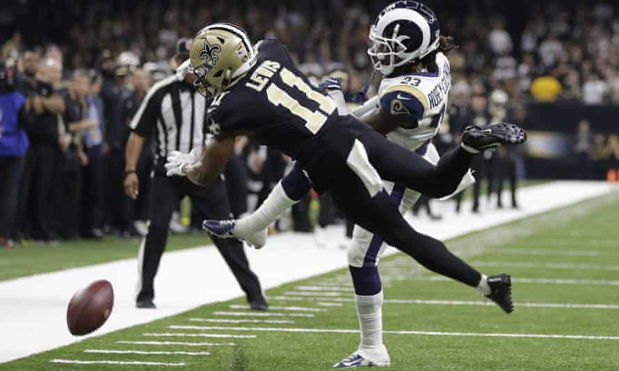 Tommylee Lewis and Nickell Robey-Coleman were involved in the most controversial play of the NFL season
