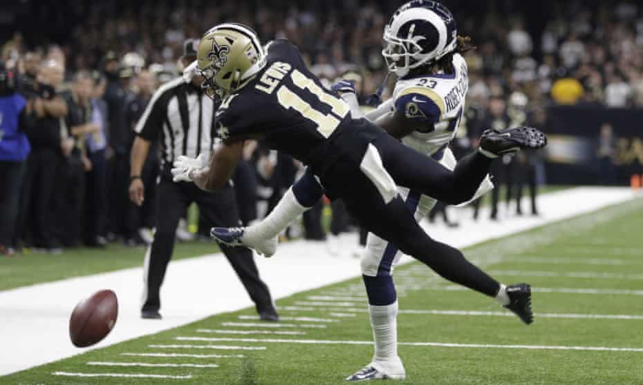 The Rams reached this year's Super Bowl after an infamous on-call in their game against the Saints