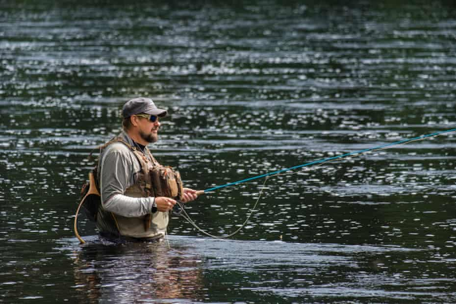 Alvdalen, Sweden: Micke Nyberg is a life-long angler from Alvdalen, in Sweden's mid-section. His ancestors have lived and probably fished here since the 16th cenury.