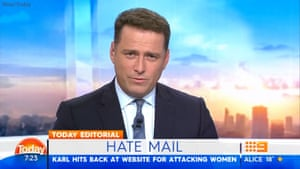 Today Show co-host Karl Stefanovic