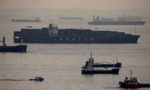 Container vessel Hanjin Rome