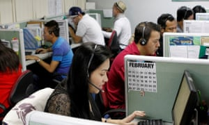 Philippine call centers have a starting salary of just $92.70 in some areas, with companies often setting salary and incentive caps to prevent wages from increasing.