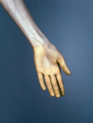 Hand #6 from The Vein. (2015). 120mm CIR
