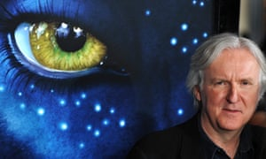 Eye declare … director James Cameron at the US premiere of Avatar, 2009.