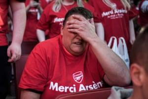 6 May 2018, Premier League: Arsenal 5-0 Burnley, Arsène Wenger's last home game.