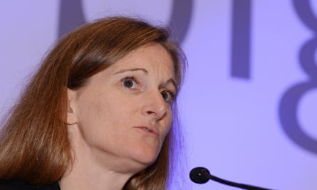 Rachel Whetstone, when she was senior vice-president at Google.