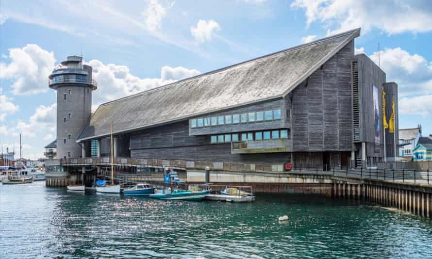MJ Long's design for the National Maritime Museum in Falmouth, Cornwall, drew on her love for boats and sailing.