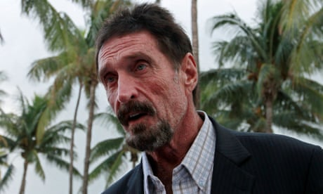 John McAfee, antivirus software pioneer, charged with tax evasion in US