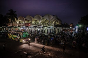 Kamalapur railway station, Dhaka, Bangladesh