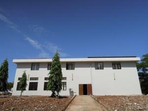 The oncology wing at Bugando Medical Centre in Mwanza, Tanzania.