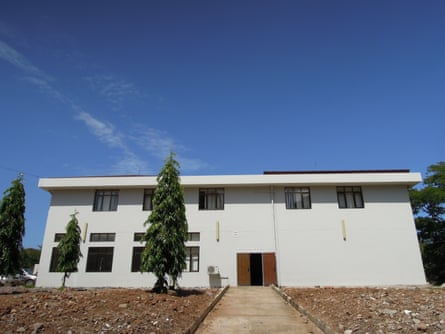 The oncology wing at Bugando Medical Centre in Mwanza, Tanzania.