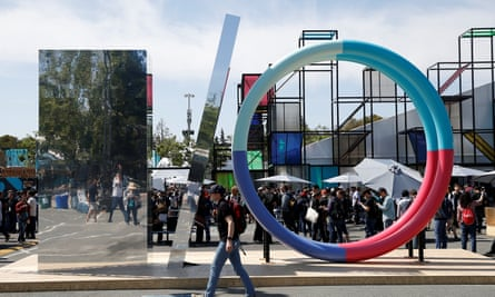 The Google I/O 2016 developers conference in Mountain View, California