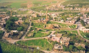 A photo of the old university of Hasankeyf – said to have been the oldest in the world – before it was destroyed in January 2019 ahead of the flooding.