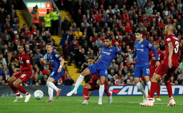 6b619f7432256a Liverpool v Chelsea and more: Carabao Cup third round – as it happened |  Football | The Guardian