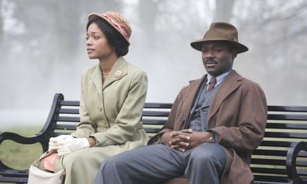 Naomie Harris and David Oyelowo as Hortense and Gilbert in the BBC adaptation of Small Island