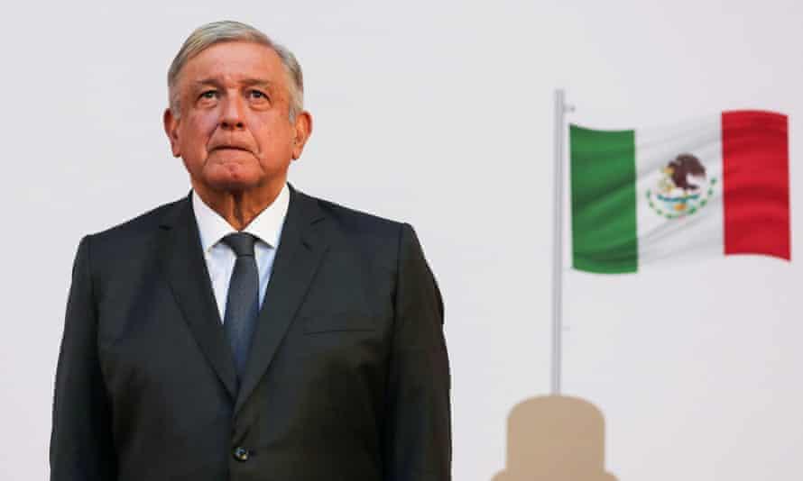 Mexico's president, Andrés Manuel López Obrador.