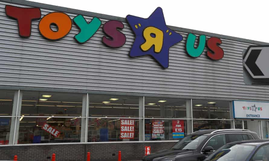 Toys R Us store in Hayes