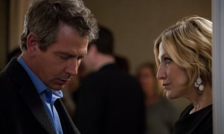 Ben Mendelsohn and Edie Falco in The Land of Steady Habits.