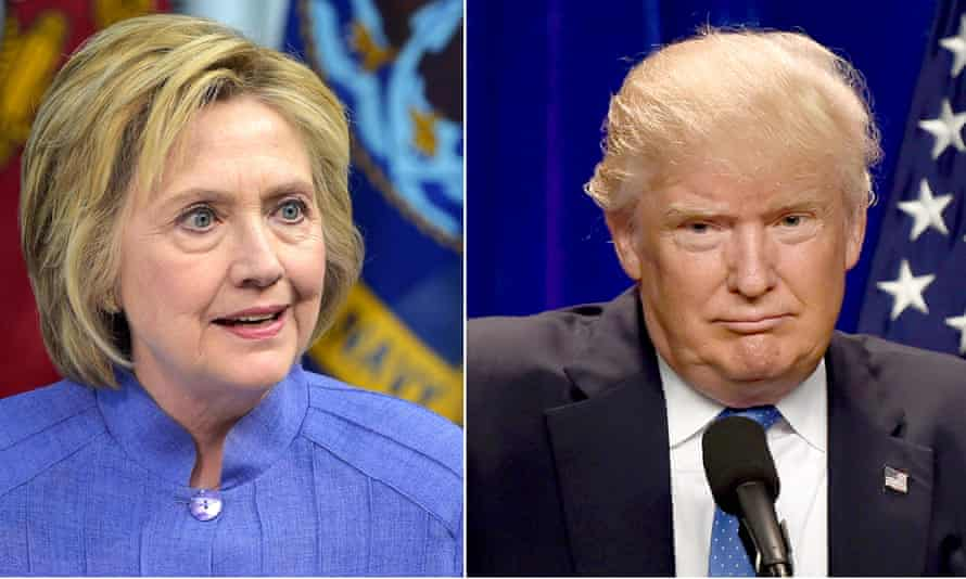 'Trump and Clinton's dismal honesty ratings show scrutiny is working' ... Photograph: /AFP/Getty Images
