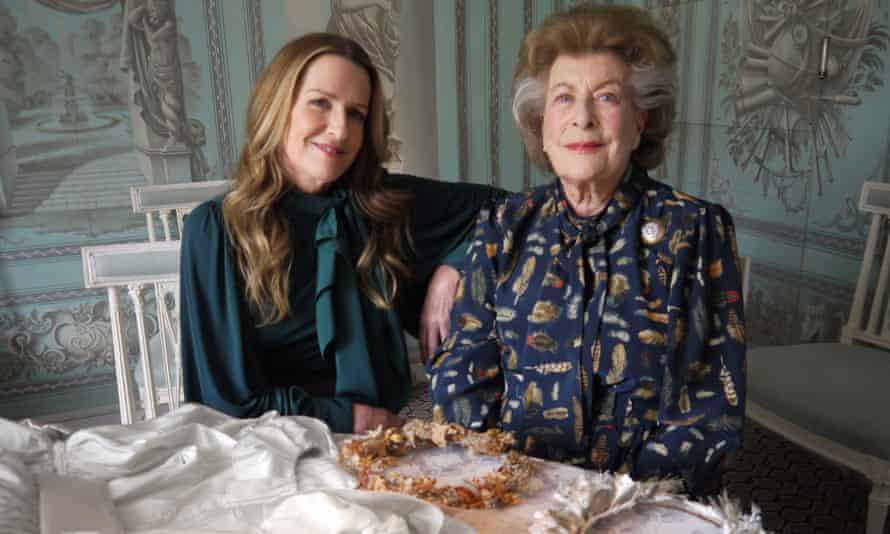 India Hicks with her mother, Lady Pamela Hicks, in My Years With the Queen