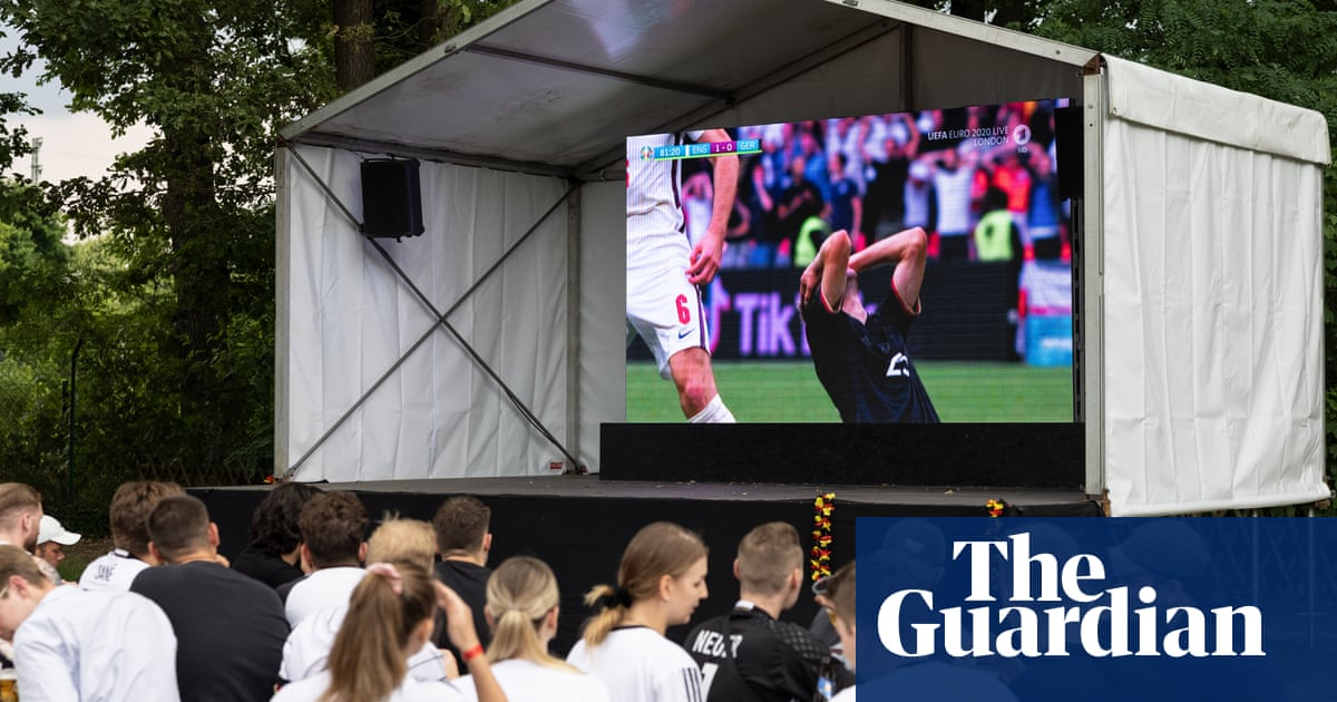 German fans downcast but not despairing at Euros loss to England