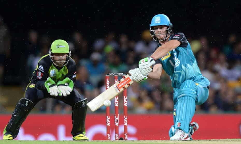 Chris Lynn hit 27 sixes and a total of 378 runs for the Brisbane Heat in their Big Bash League campaign.