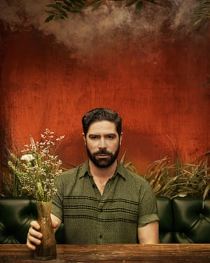 Musician Yannis Philippakis from Foals