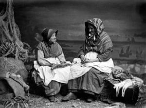 Cornish Fishwives c1880