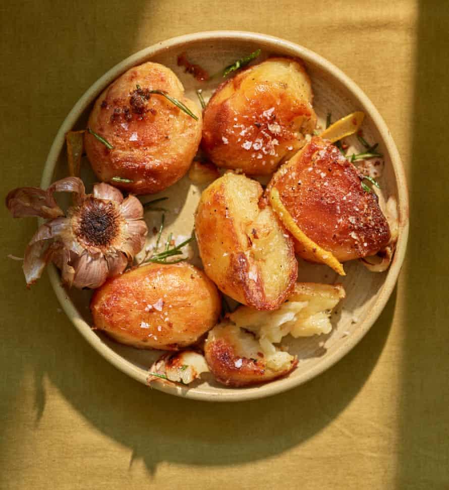 Anna Jones' ultimate roast potatoes.