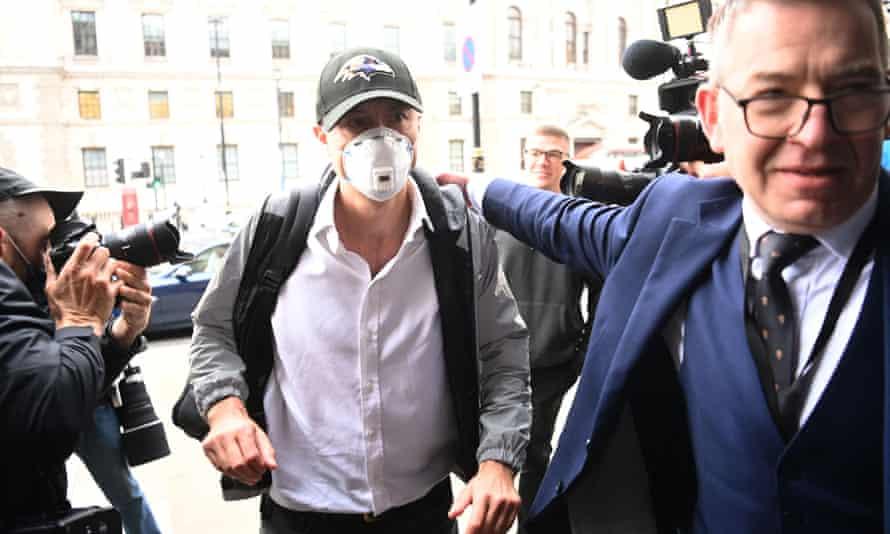 Dominic Cummings arrives at Portcullis House in London