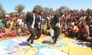 Dancers at Tumaini festival