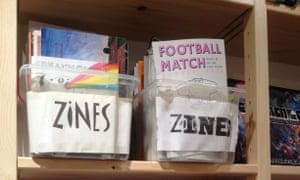 A sample of Housmans selection of zines