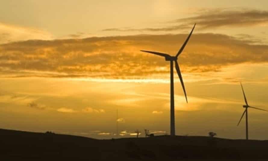 windfarm in NSW