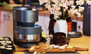 Looks like a fictional version of the future ... the Joyoung S5 steam rice cooker.