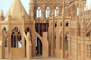 Model of work planned on Westminster Abbey