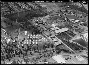 Villawood, Liverpool, Sydney, 1967. The site of the Detention Centre was previously known as the Villawood Migrant Hostel, built in 1949 to house migrants from post-war Europe to work in local industries.
