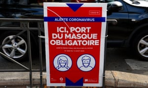 Following an upsurge in Covid cases in France, 21 departments have been classified in the red zone. The 21 departments concerned by an active circulation of the virus are Bouches-du-Rhône, Paris, Seine-Saint-Denis, Val-de-Marne, Hauts-de-Seine, Seine-et-Marne, Essonne, Val-d'Oise, Yvelines, Sarthe, Rhône, Gironde, Haute-Garonne, Hérault, Gard, Var and Alpes-Maritimes for metropolitan France. Guadeloupe, Martinique and Guyana are the three overseas territories affected by the active circulation of the virus. Face masks mandatory in Marseille.