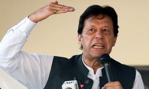Pakistan's prime minister, Imran Khan