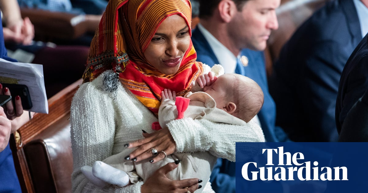 a23a102162ed My choice   Ilhan Omar becomes first to wear hijab in US Congress ...
