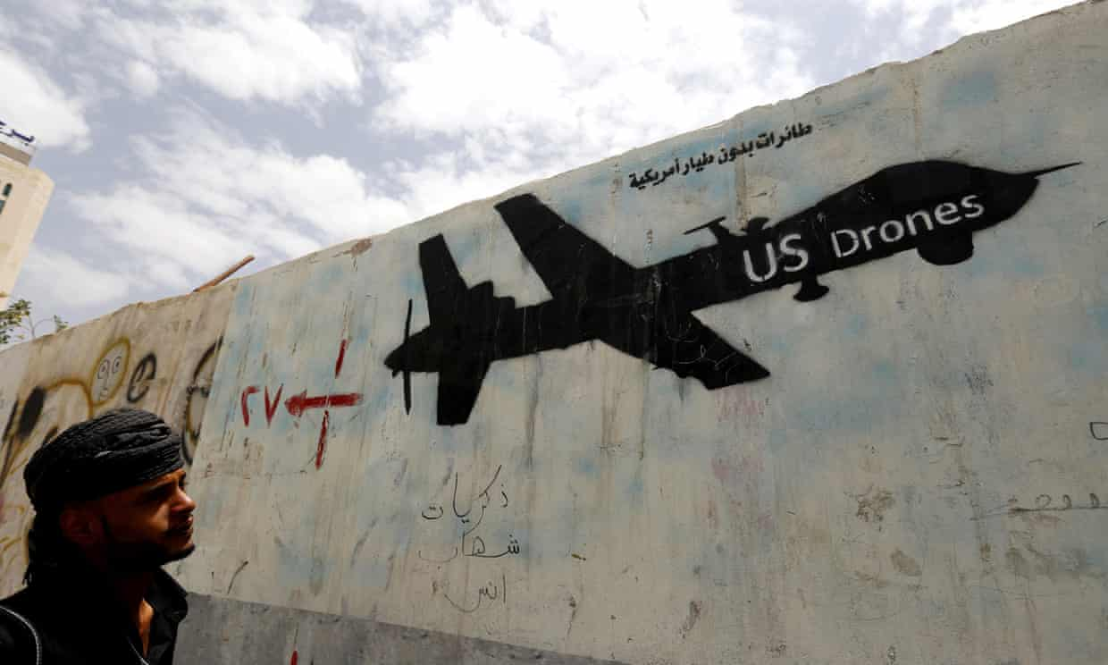 America dropped 26,171 bombs in 2016. What a bloody end to Obama's reign