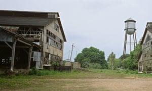 Derelict rubber factory, Fordlandia.